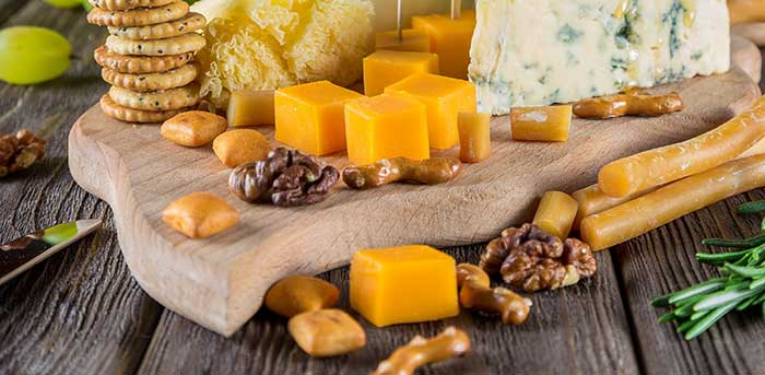 Cut Blocks of Cheese Thinly
