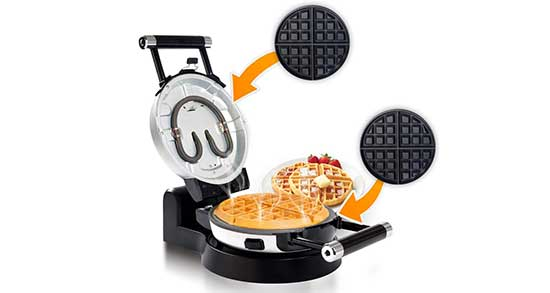 Secura Upgrade Automatic 360 Rotating Waffle Maker