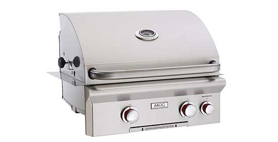 American Outdoor Grill 24 Inch Built-in Natural Gas Grill