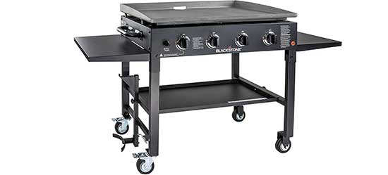 Blackstone 1554 Outdoor Flat Top Gas Grill Griddle Station