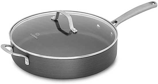 Calphalon Classic Nonstick Saute Pan With Cover