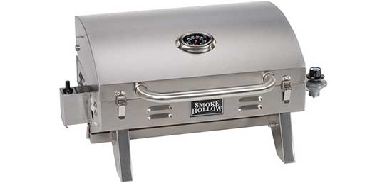 Masterbuilt 205 Stainless Steel Gas Grill, Tabletop