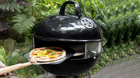 Pizzacraft PC7001 PizzaQue Deluxe Outdoor Pizza Oven Kettle Grill