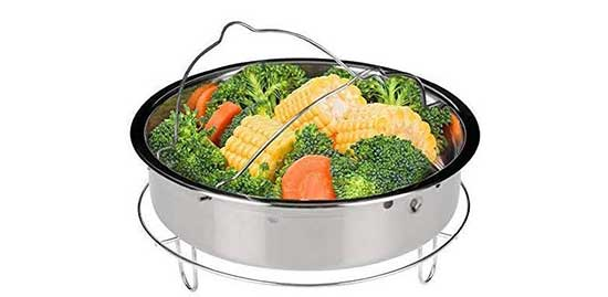 Secura Stainless Steel 6-quart Electric Pressure Cooker Steam
