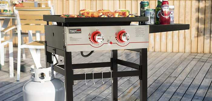 Size best 2 burner gas grill